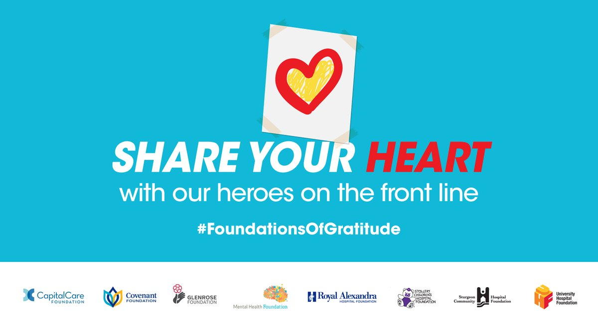 #FoundationsOfGratitude: Show Support for Hospital Heroes during COVID-19 Crisis
