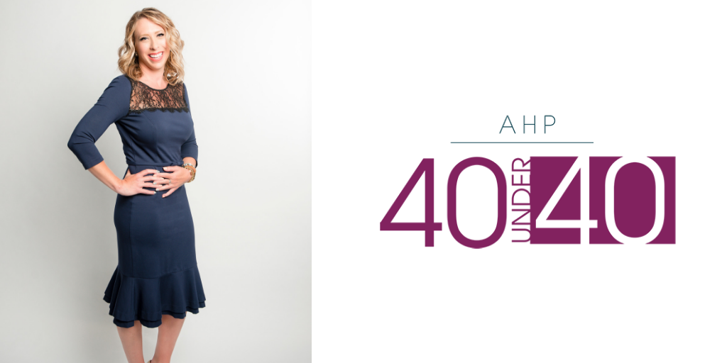 Foundation Director recognized in the Association for Healthcare Philanthropy's 2019 40 Under 40 list