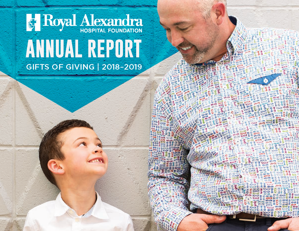 "Announcing the 2018-2019 Digital Annual Report ""Gifts of Giving"""