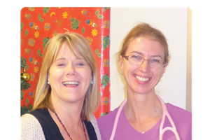 Yolanda Saunders, CK Hui Heart Centre (right)